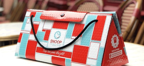 illustration Snoop Doggy Bag soutient les restaurants